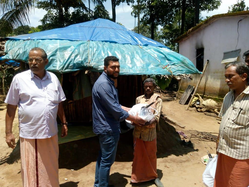 Kitchen Kit Distribution - kerala flood
